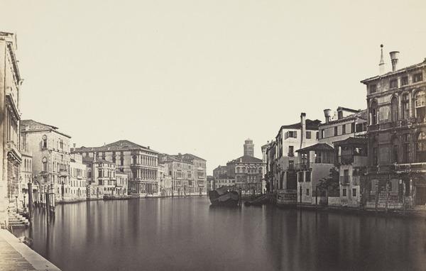 Canal Grande dall Accademia con Palazzo Balbi, Venice