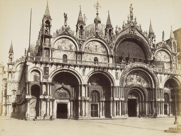 Basilica di San Marco, Venezia [St Mark's Cathedral in St Mark's Square, Venice]