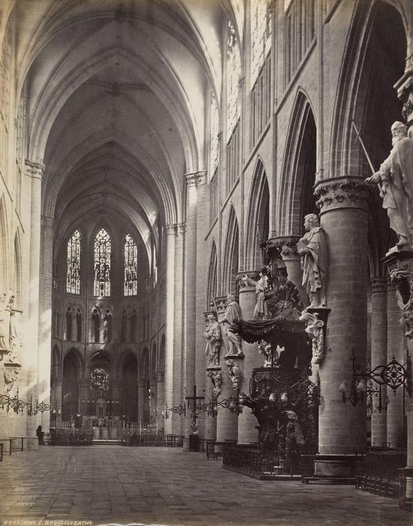 Brussels Cathedral Interior