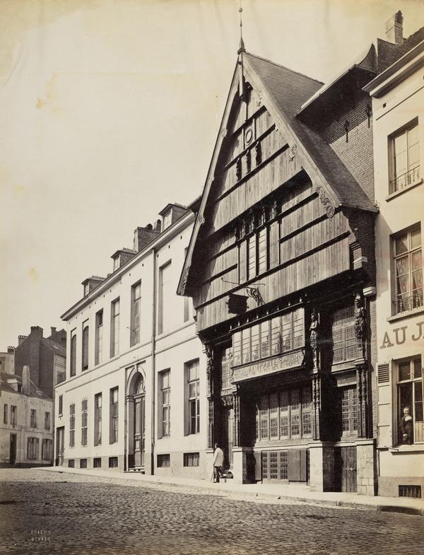 Street Scene, Brussels