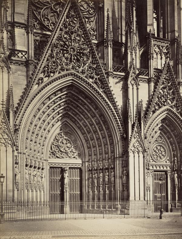The Church of St. Ouen Exterior, Rouen