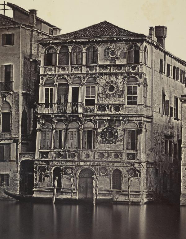 Palazzo Dario, Venezia [Dario Palace, Venice] (1850s / 1860s)
