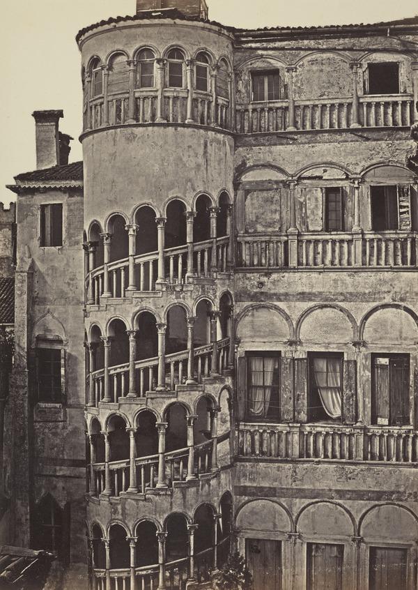 Palazzo Contarini della Scala or Dal Bovolo (1850s ?)