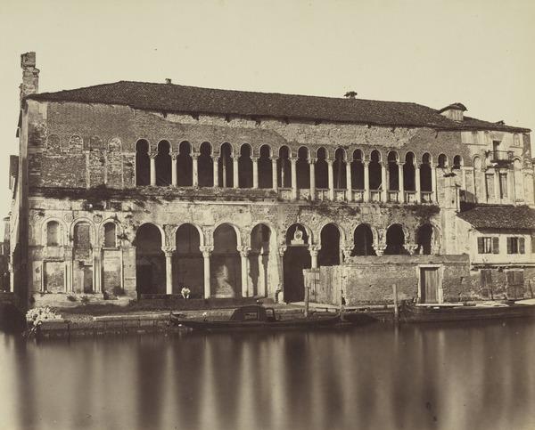 Fondaco De' Turchi, Venice (1850s / 1860s ?)