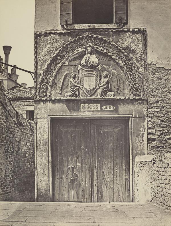 Porta al Ponte del Ravano [Doorway], Venice (1850s / 1860s [?])