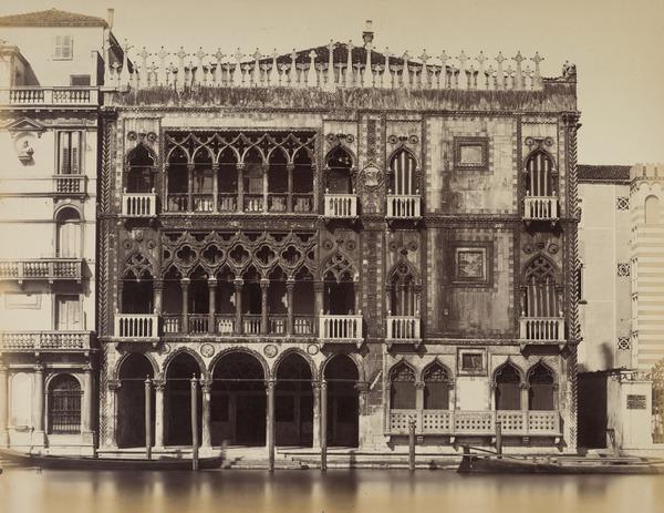 Palazzo Ca' D'oro sul Gran Canale [Ca D'oro Palace on the Grand Canal], Venice (1860s [?])