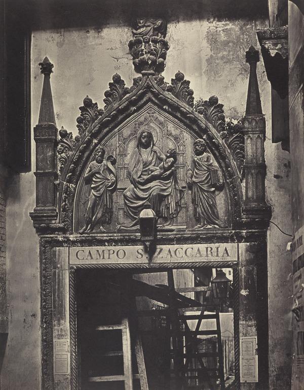 'Porta San. Zaccaria' (1850s / 1860s)