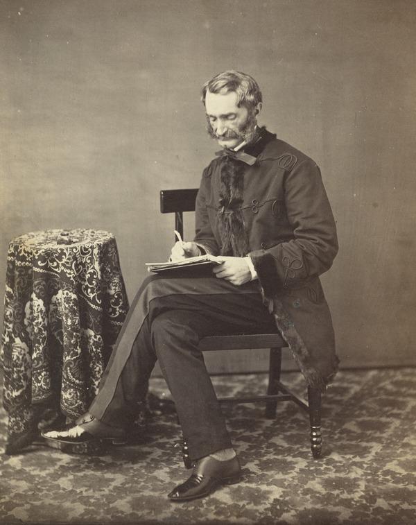 General James Hope Grant, 1808 - 1875. Soldier (1860)