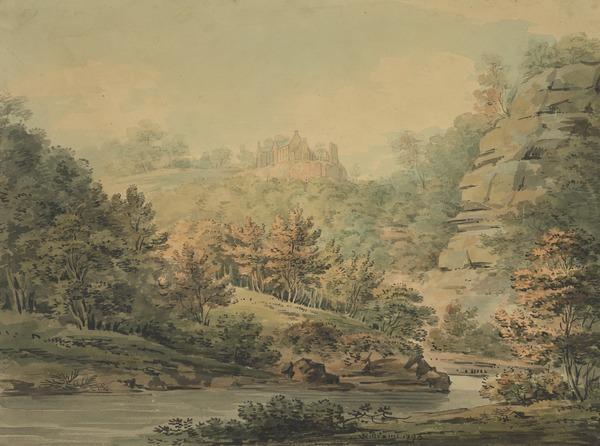 Hawthornden (Dated 1795)