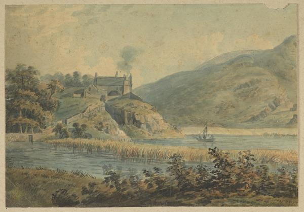 Duddingston Loch, Edinburgh [Verso: Landscape Sketch]