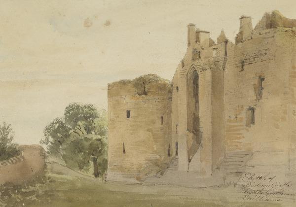 Dirleton Castle (About 1812)
