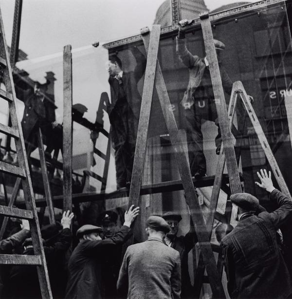 Untitled [Window fitters] (About 1936 (negative))