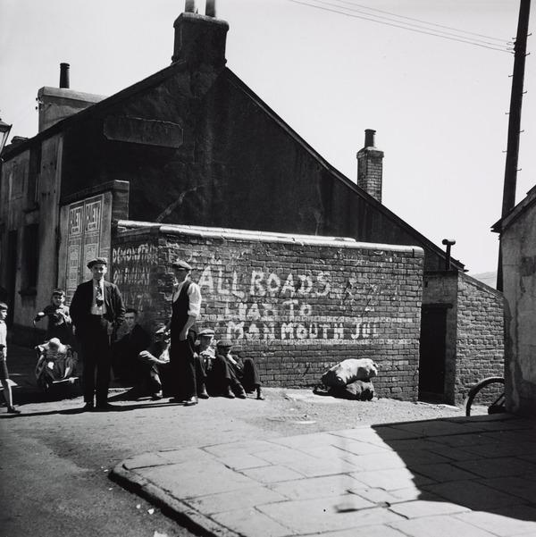 Untitled ['All Roads Lead to Monmouth'] (About 1935 (negative))