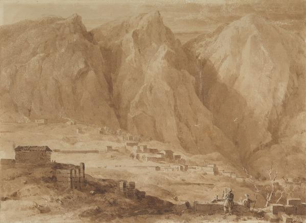 View of Castri, Greece (About 1824)