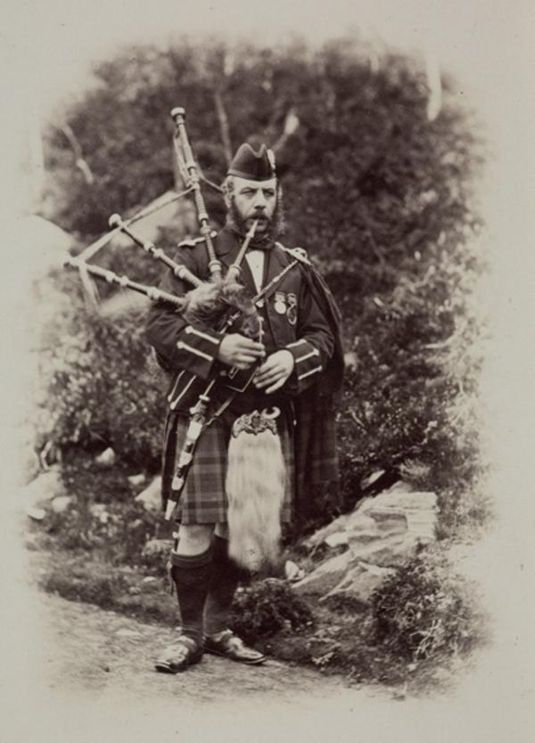 McLennan, the Piper (August 1863)