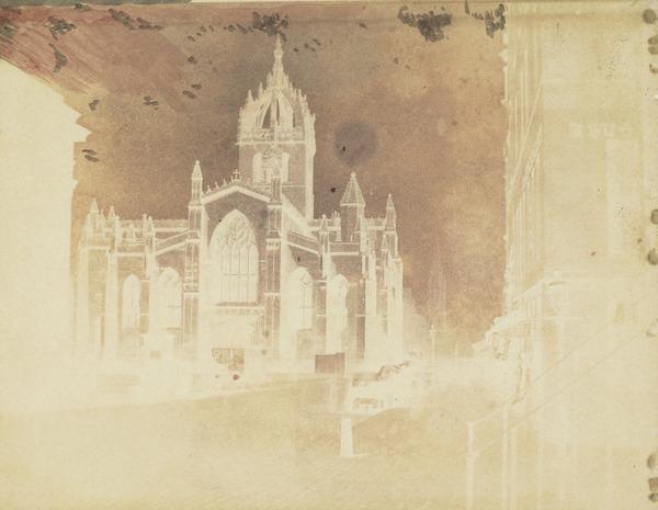 St. Giles Cathedral, Edinburgh (1840s)