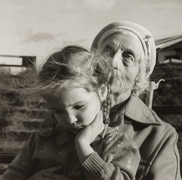 From the series 'Love's Rhythms and Sorrows' (Grandmother and girl)