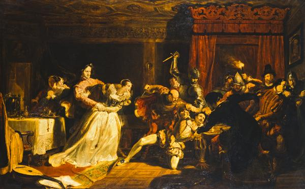 The Murder of David Rizzio (Exhibited 1833 (Royal Academy))
