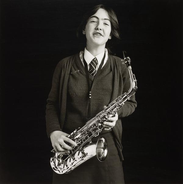 'Schoolgirl with Saxophone' from 'Pictures from No Man's Land' (1984)
