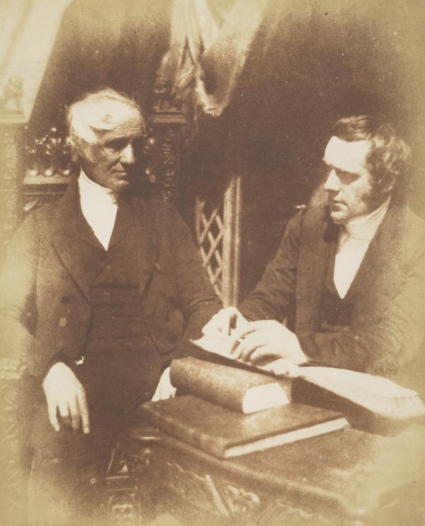 Rev. R. and Sir Richard Brown [Group 54] (1843 - 1847)