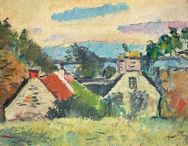 Cottages, Fife (About 1923 - 1924)