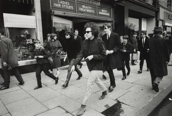 Bob Dylan, Princes Street, Edinburgh (1966 (printed 2011))