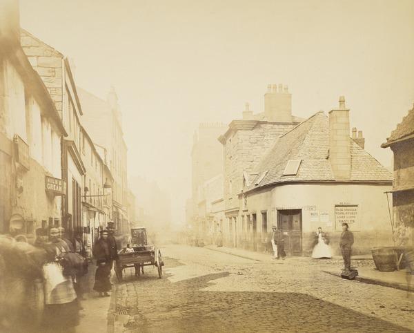 Main Street, Gorbals, from Rutherglen Loan (1868 - 1871)
