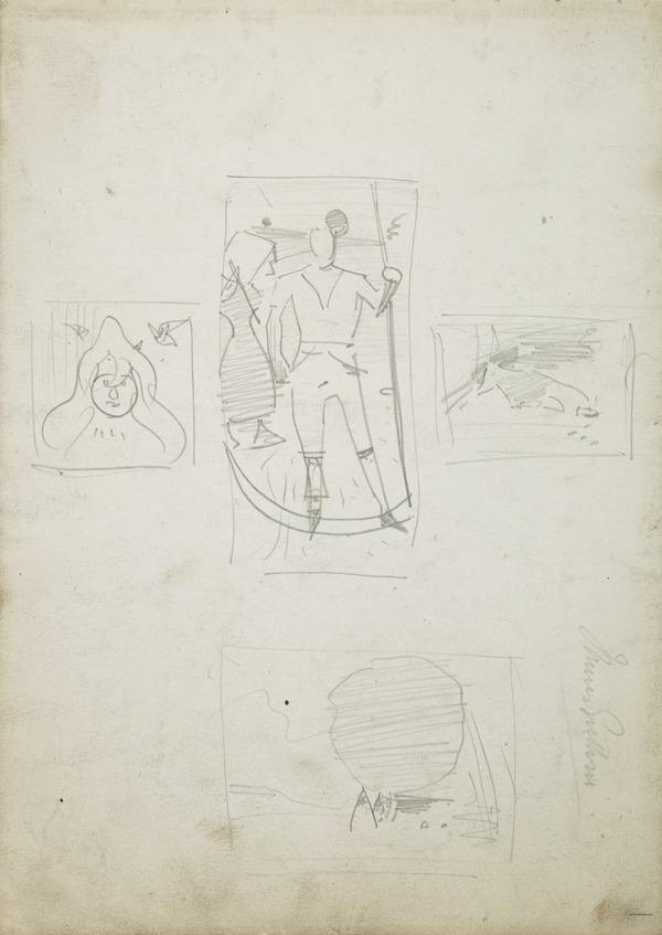 Four Composition Sketches (1883 - 1885)