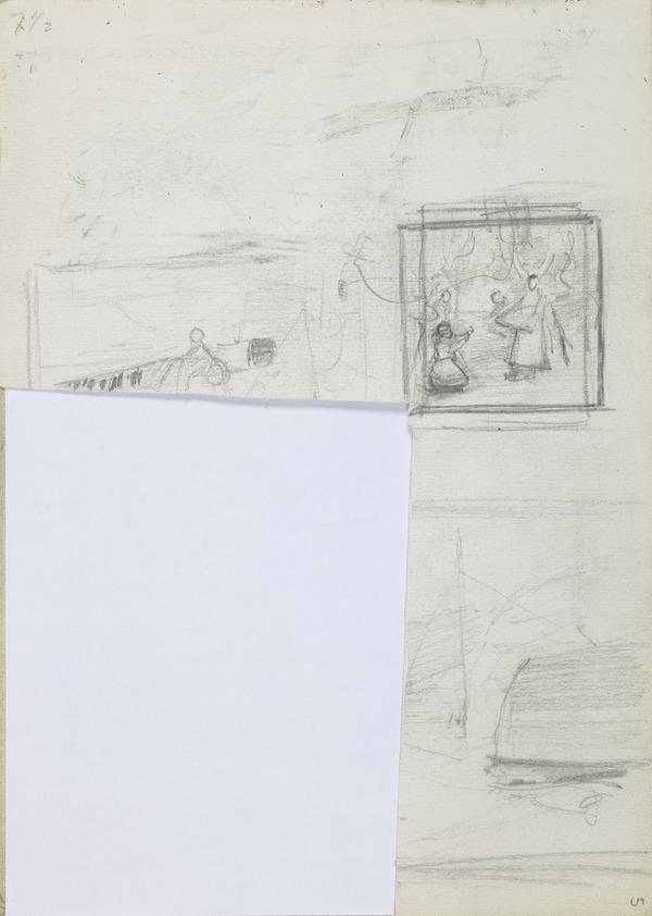 Small Composition Sketch for 'In the Orchard' an Other Sketches (1885)