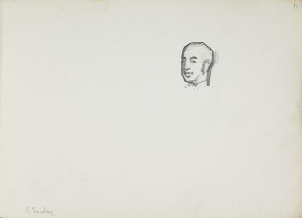 Head of Robert Gourlay (Before 1887)