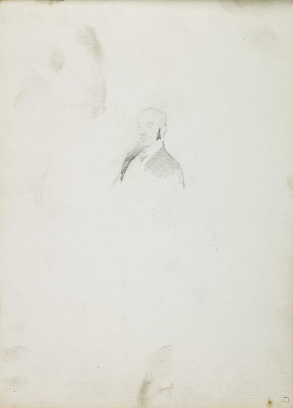 Study for a Portrait of Robert Gourlay (1840 - ?) (Before 1887)