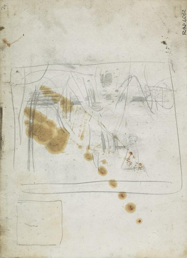 Composition Sketch for 'In the Orchard' (1885)