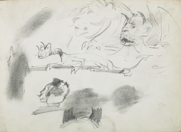 Sketches of Feline Creatures (1883 - 1891)