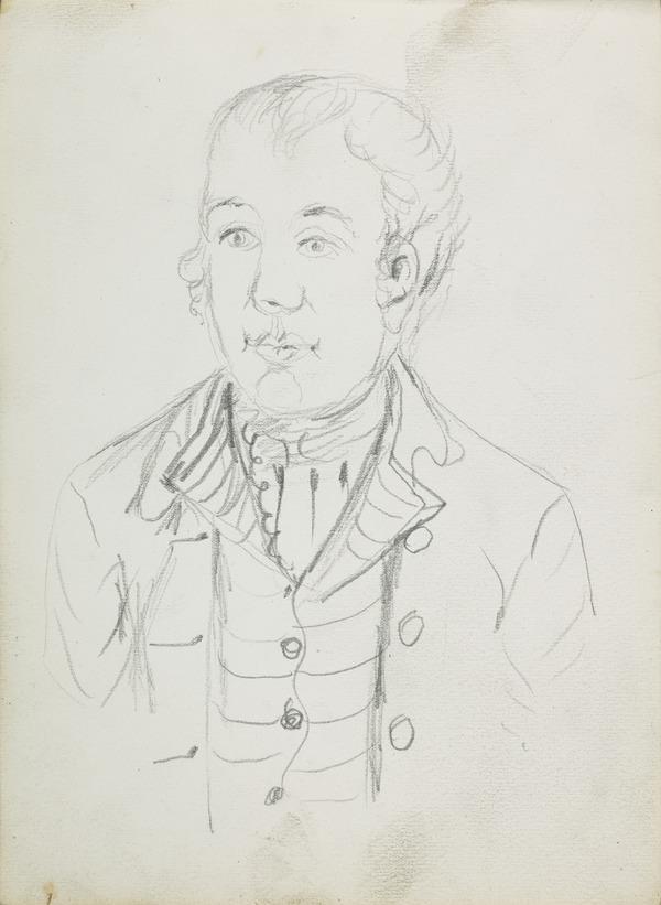 Portrait Study of a Man (1883 - 1891)