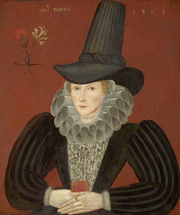 Esther Inglis, 1571 - 1624. Calligrapher and miniaturist (1595)