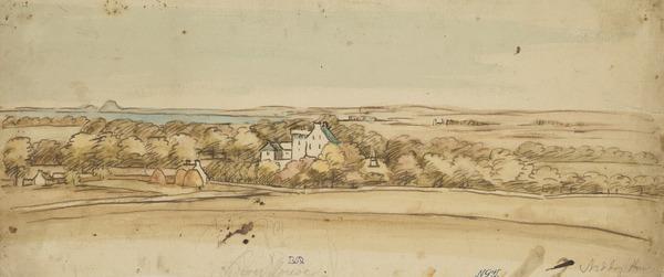 Niddry House and Surroundings, near Edinburgh