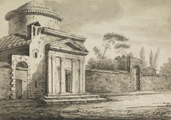 The Church of St Andrea della Via Flaminia near the Ponte Milvio, Rome