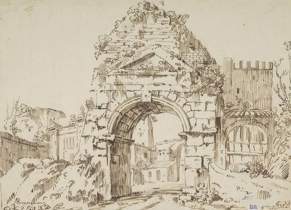 Arch of Drusus and Porta San Sebastiano, Rome