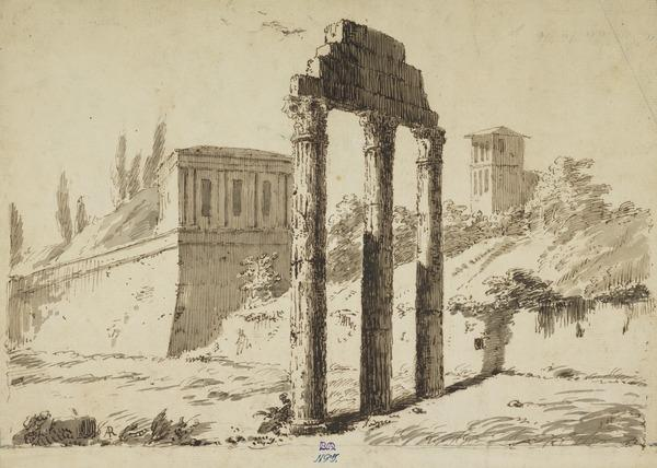 Temple of Castor and Pollux in the Forum Romanum
