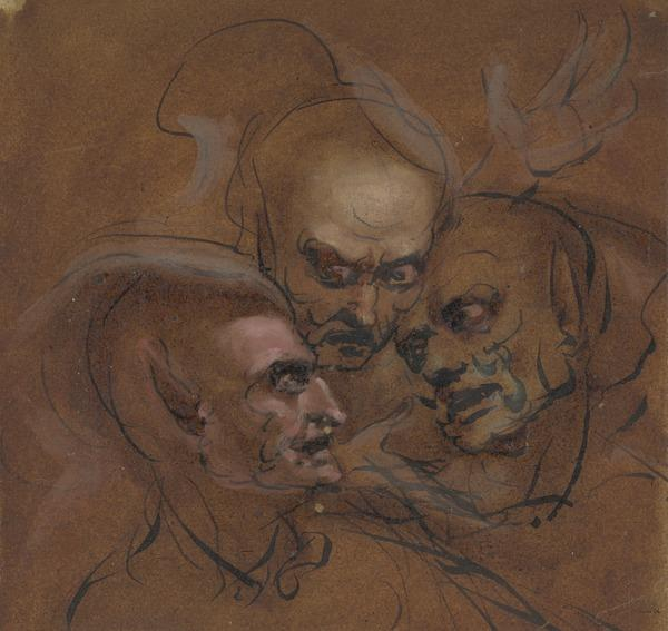 Three Heads: The Witches of Macbeth