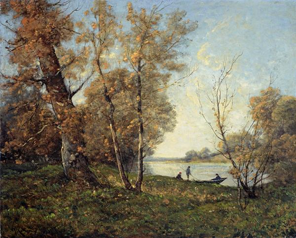 The Banks of the Loire (About 1880 - 1900)