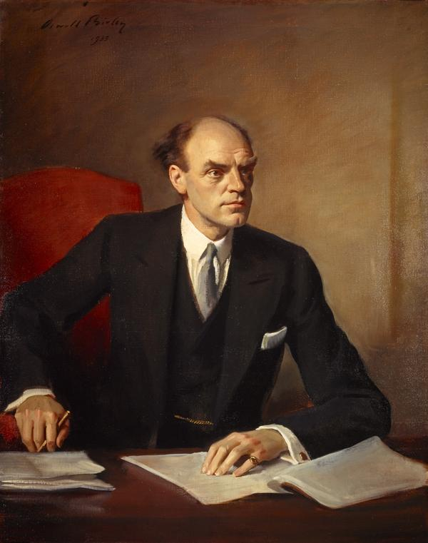 John Reith, 1st Baron Reith of Stonehaven, 1889 - 1971. Director-General of the British Broadcasting Corporation