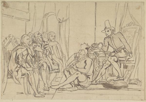 King James VI Teaching Divinity