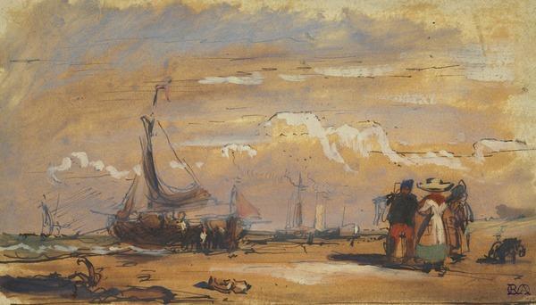 Beached Boats on the Dutch Coast