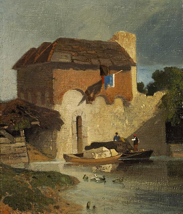 Buildings on a River (1807 - 1810)