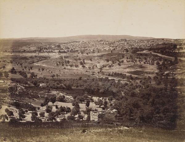 'Jerusalem from Mount Scopiro'.