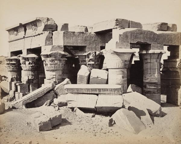 'The Temple of Komumbou'. (1857)