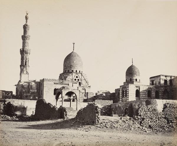 'The Mosque of Kaitbey'. (1858 (1857 engraved on page))