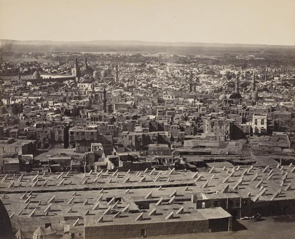 'Cairo from the Citadel No. 2'.