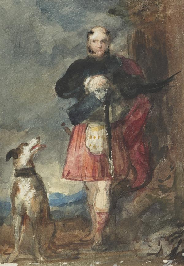 Prince Augustus (Frederick), Duke of Sussex, 1733 - 1843. 6th son of George III. Copy after the Painting by Sir David Wilkie